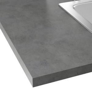 alin a classic cuisine plan de travail stratifi effet b ton cir 208x60cm pas cher achat. Black Bedroom Furniture Sets. Home Design Ideas