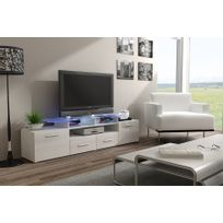 chloe design meuble tv design evori blanc - Meuble Tv Ultra Design