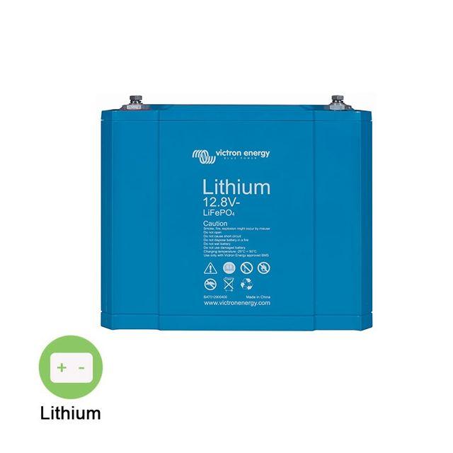 victron energy batterie lithium 12 8v 60ah cb pas cher achat vente batteries solaires. Black Bedroom Furniture Sets. Home Design Ideas