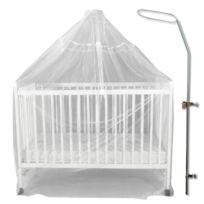 Bambisol - Fleche de lit + voile moustiquaire