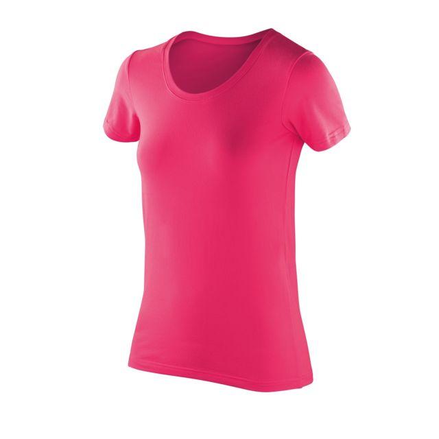 SPIRO Impact - T-shirt à manches courtes - Femme S, Rose Utpc2621