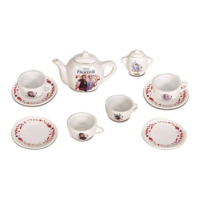 DINETTE - CUISINE La Reine des Neiges 2 Dinette Porcelaine 12 Accessoires