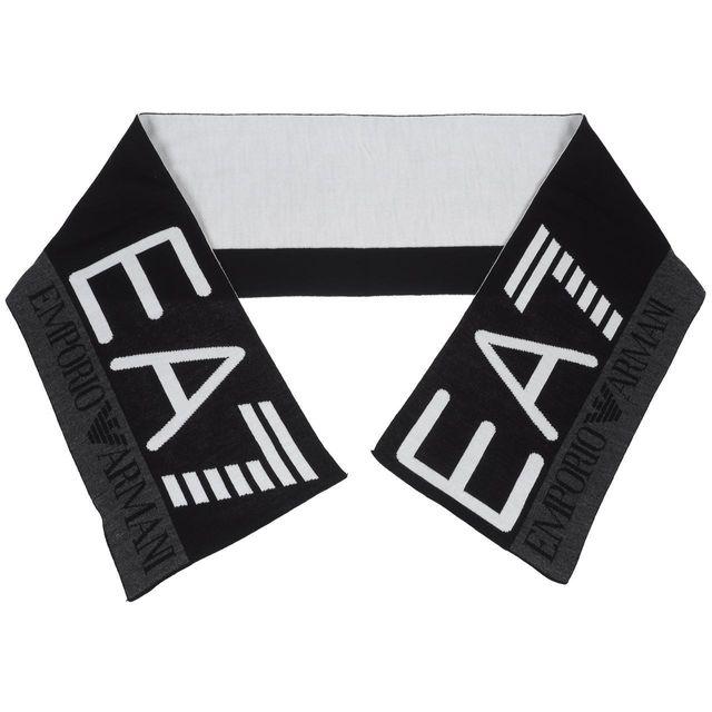23d86952ab2b Armani - Echarpe Ea7 275561 black scarf Noir 58661 - pas cher Achat ...