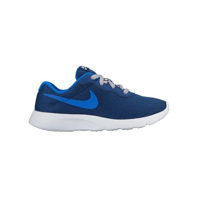 watch f4574 5190d Nike - Chaussures Nike Tanjun Ps bleu blanc bleu enfant