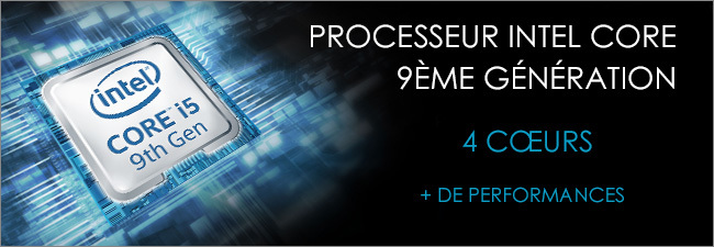 MSI - Processeur Intel Core i5 9th