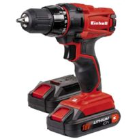 Einhell - Perceuse-Visseuse sans fil TC-CD 18-2 Li