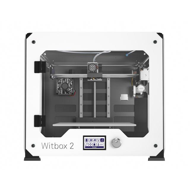 Bq Imprimante 3D Witbox 2 couleur à 1 tête d'impression Pla bronze, bois ou cuivre, flexible Etherne