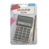 Spinning Hat - Sh01315 Carnet RÉTRO Calculatrice