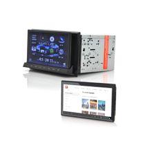 Auto-hightech - Autoradio 2 din Dvd façade détachables 7 pouces tablette Android, Gps, Dvb-t, WiFi