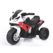 Bmw - S 1000 Rr Tricycle électrique pour enfants, Moto ? piles, 3 roues, sous licence, 1x moteur, batterie 6V