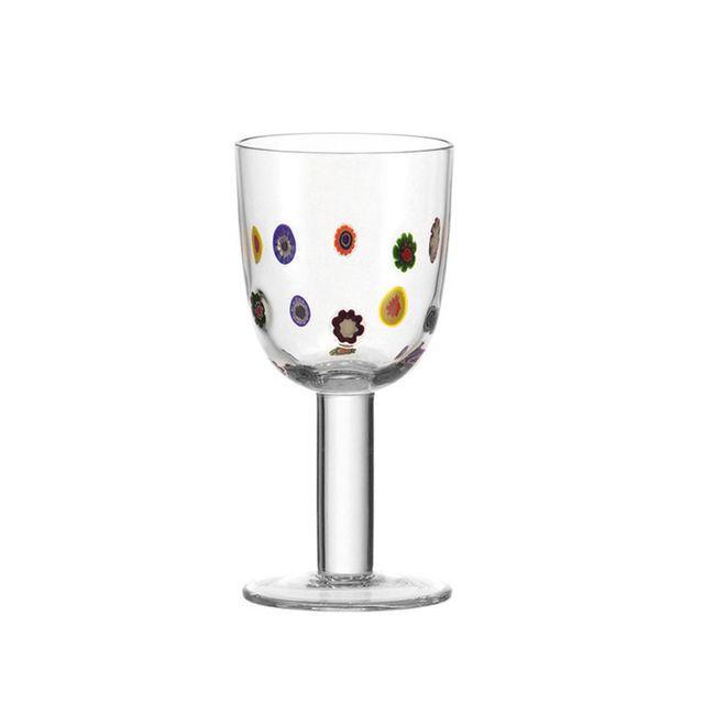Leonardo Verre à vin blanc - 35 cl - Lot de 6 - Millefiori