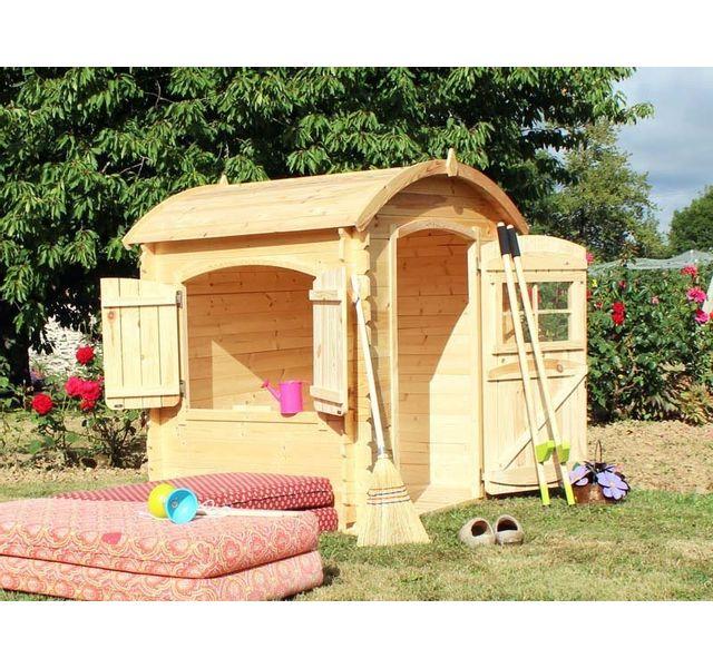 soulet maisonnette bois patty pas cher achat vente. Black Bedroom Furniture Sets. Home Design Ideas