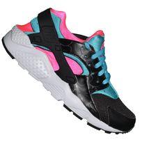 Nike Huarache Noir Semelle Rose