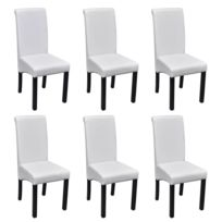 chaises salle a manger blanches - Achat chaises salle a manger ...