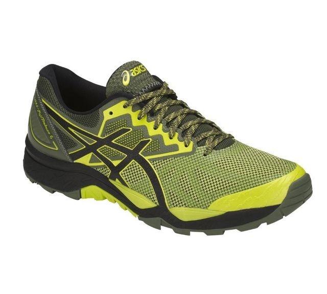 asics chaussure jaune