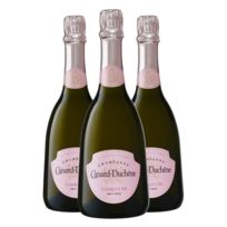 Champagne Canard-duchene - Charles Vii Brut Rose avec coffret Lot de 3 Bouteilles