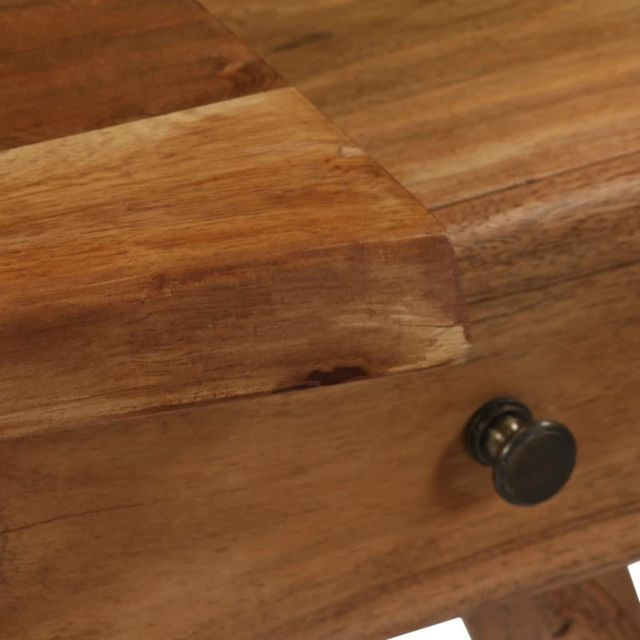 Icaverne - Buffets et bahuts reference Armoire latérale Bois d'acacia massif 120 x 36 x 50 cm