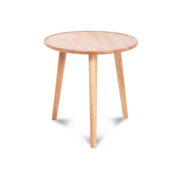 Declikdeco Table Basse En Bois Scandinave Sobrio
