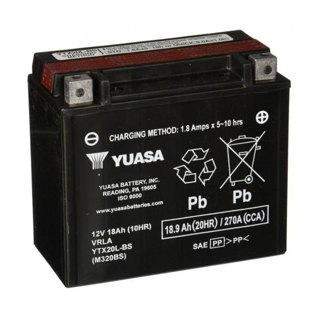 Batterie Moto quad YTX20L-BS 12V18Ah Quad TGB BLADE 425 450 460 500 525 550