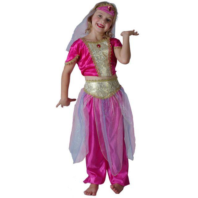 Sans - Déguisement danseuse orientale fille - taille - 7 à 9 ans - 173879 724dba117d3