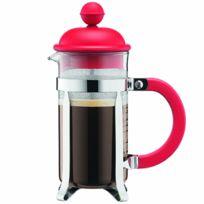 BODUM - cafetière à piston 3 tasses 0,35l rouge - 1913-294