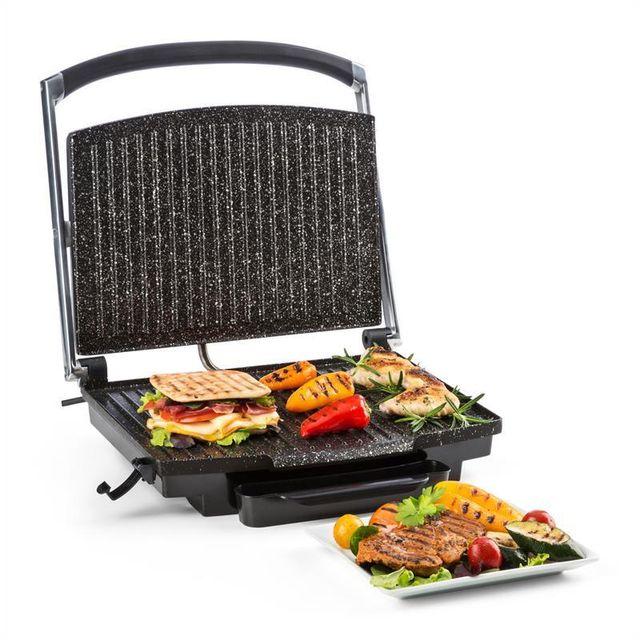 KLARSTEIN Edelstein Grill multifonction presse à paninis 2000W 240 °C - inox