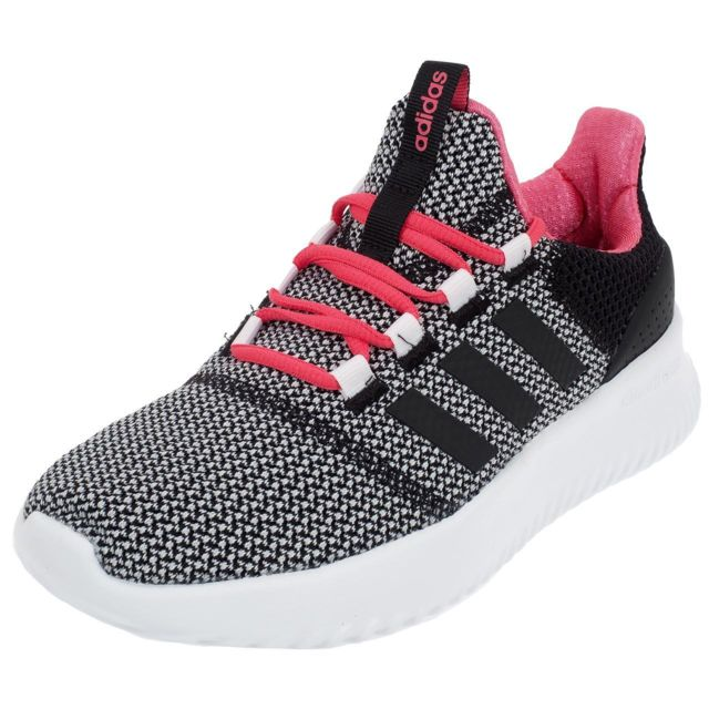 fa5a3beecff84 Adidas - Chaussures running mode Cloudfoam ultimate girl Gris 76573 - pas  cher Achat   Vente Baskets enfant - RueDuCommerce