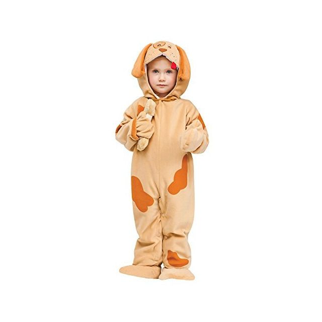 Fun World Costumes Babys Playful Puppy Toddler Costume Tan Small