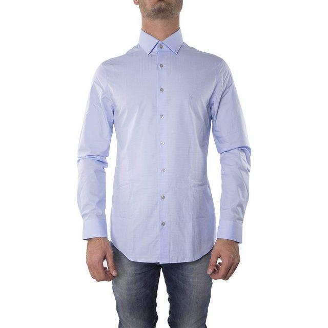 Calvin Klein - Chemise Slim Fit Bari - pas cher Achat   Vente ... 3b5322597bb7