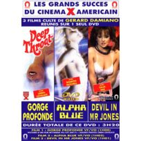 Blue One - Gorge Profonde - Alpha Blue - Devil in Miss Jones 3 films