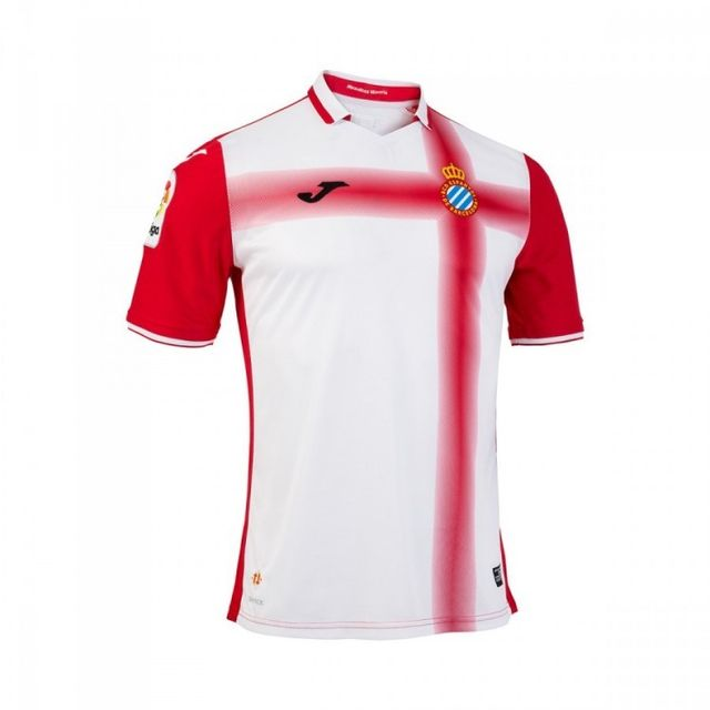 Joma Maillot Rcd Espanyol Extérieur 2016 2017 Rouge Blanc