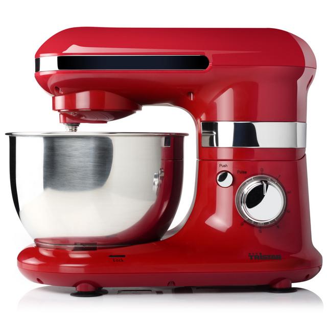 Rocambolesk Superbe Mixeur multifonction Tristar avec bol rouge 4 L Neuf
