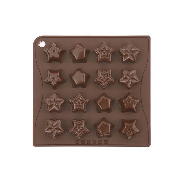 Pavoni Moule étoiles en chocolat