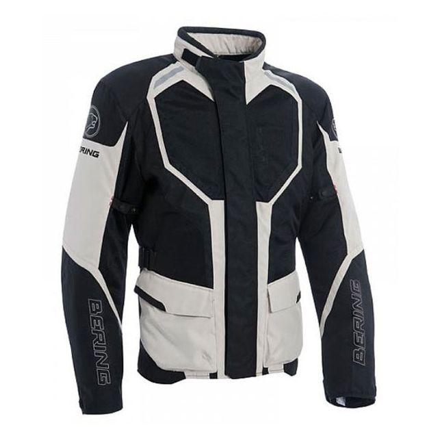En Moto Homme 3 Toutes Bering 1 Textile Noir Saisons Veste Rokka 4nqz5