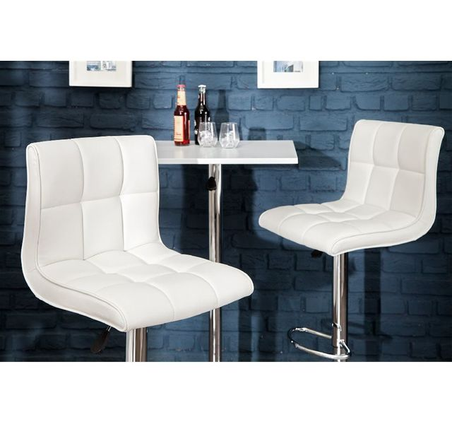 CHLOE DESIGN Tabouret design MODENA - Blanc