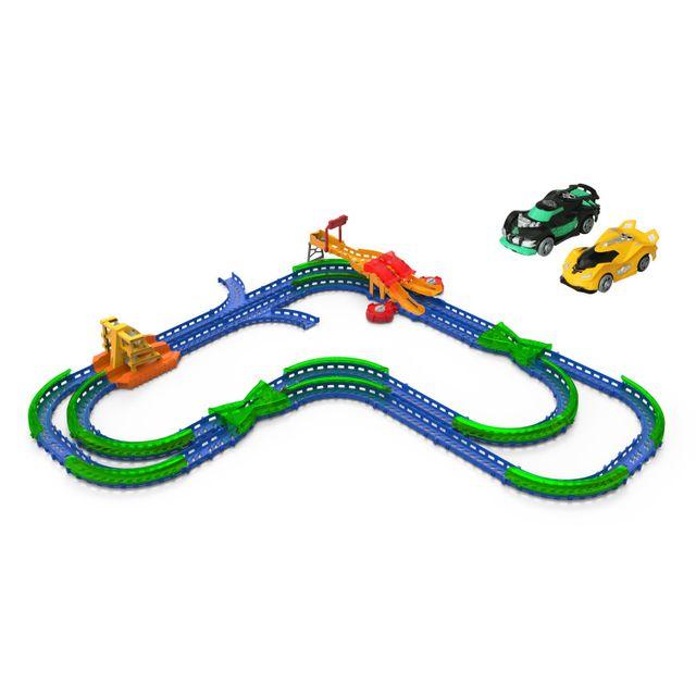 Auldey Toys Circuit de voitures : Super Stunt Howdown