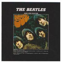 Rock Off - Woodbrass Club Carte Postale Beatles Motif: Rubber Soul - 16 Cm X 16 Cm