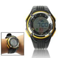 Wewoo - Montre sport de électronique et à quartz étanche avec réveil, chronomètre rétroéclairage