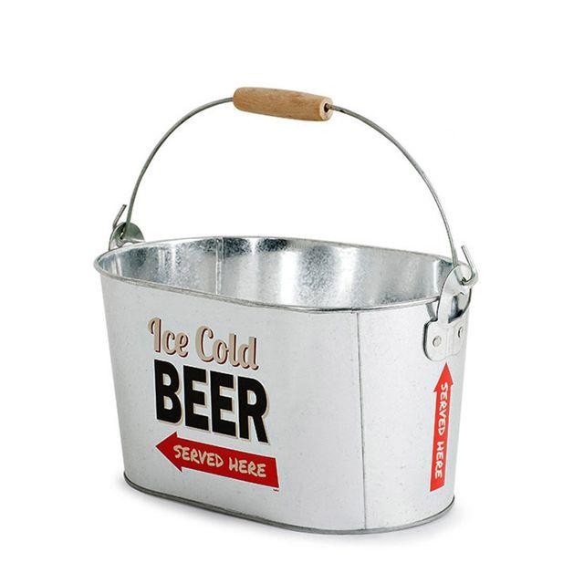 Balvi Seau à Bière Party Time Métal