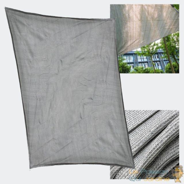 le poisson qui jardine voile d 39 ombrage rectangulaire. Black Bedroom Furniture Sets. Home Design Ideas