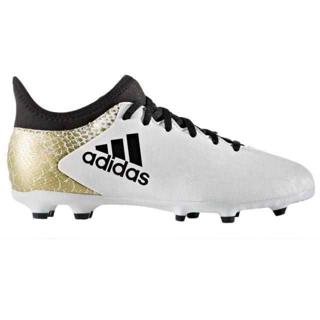 release date: 2e857 1a45b Adidas - Adidas X 16.3 Fg Chaussure Garçon - Taille 38 - Blanc