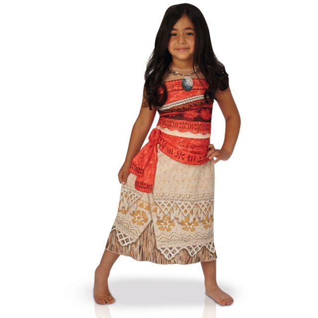 Sans - Déguisement classique Vaiana 7 8 ans - Disney Enfant Carnaval - 037 a0ca70af25b