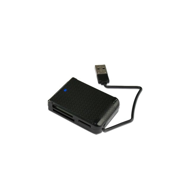 Cabling - Lecteur de carte Ms Pro/DUO/PRO Duo-compact Flash I/II/SDHC/SD/SDXD/MINI Sd/ Mmc/RS Mmc et M2/Micro Sd-t Flash sans adaptateur