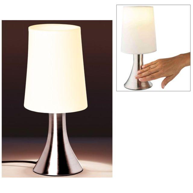 Touslescadeaux Lampe De Chevet Sensitive Touch Tactile 3