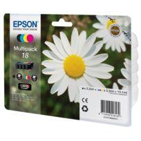 EPSON - Pack cartouches d'encre Noir + Couleur compatible avec la gamme XP
