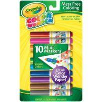 Crayola - Couleur Wonder Mini Marqueurs 10/PKG- 75-2211