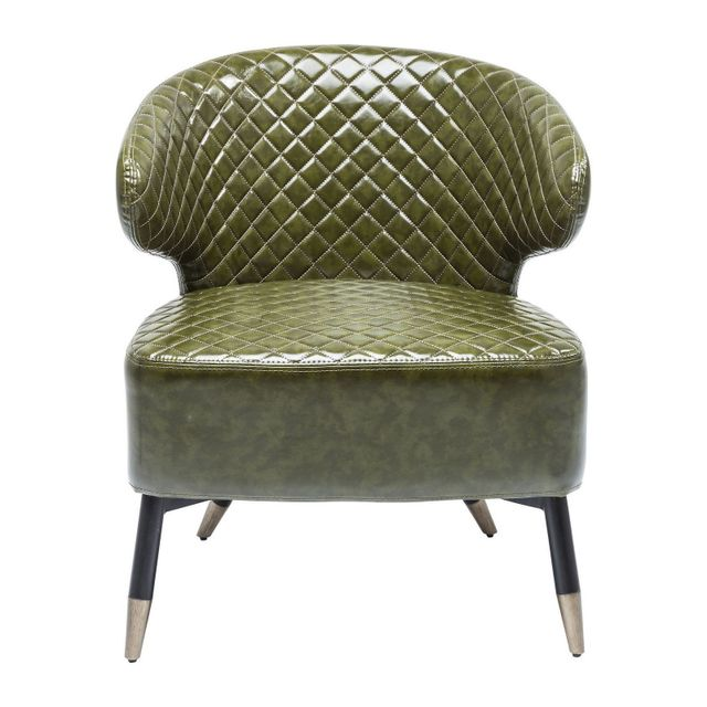 Karedesign Fauteuil Session vert Kare Design