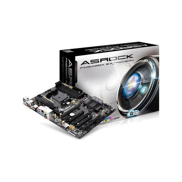 Asrock Carte mère Fm2A88X Extreme6+, Amd A88X - Sockel Fm2