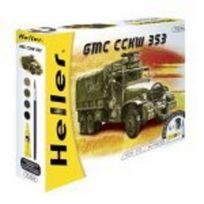Heller - Kit maquette camion militaire gmc cckw 1/72ème