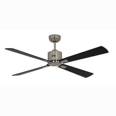boutica design ventilateur de plafond eco neo ii 132 chrom noir teck casafan pas cher. Black Bedroom Furniture Sets. Home Design Ideas